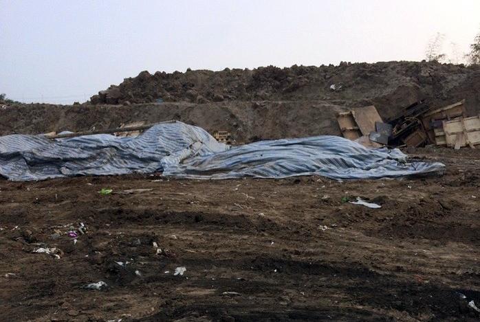 Vụ chôn trộm chất thải nguy hại ở Hải Dương có dấu hiệu hủy hoại môi trường