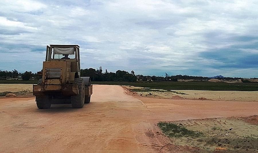 UBND tỉnh Quảng Nam sẽ tiến hành kiểm tra, rà soát tất cả các dự án bất động sản trên toàn tỉnh. Ảnh: Thời báo Chứng khoán Việt Nam