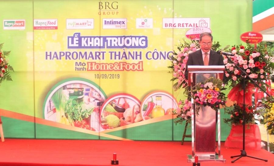 Siêu thị Hapromart Thành Công đi vào hoạt động theo mô hình Home & Food