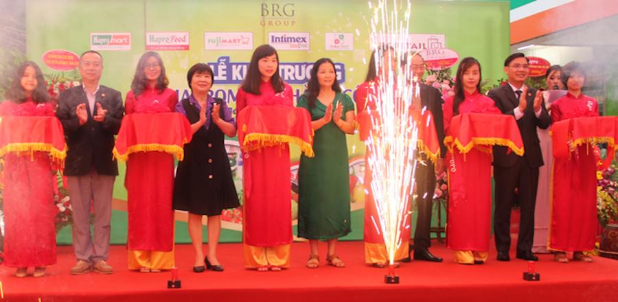 Lễ khai trương siêu thị Hapromart Thành Công theo mô hình Home & Food